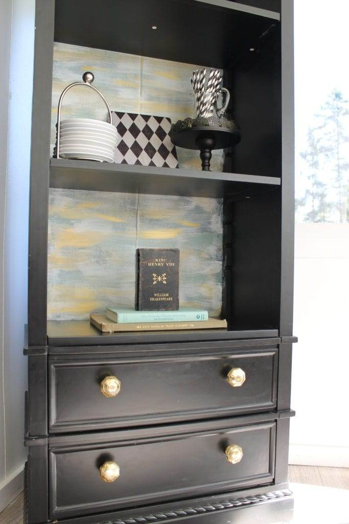 Funky Diy Bookcase Makeover For Cheap The Inspired Prairie