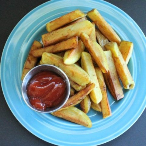 How to Make Crispy French Fries (Restaurant Style)