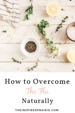 How to overcome the flu naturally