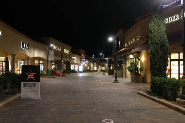 Outlet stores in Palm Springs, California