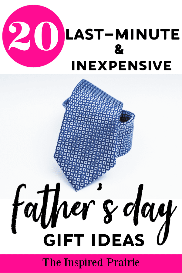 20 Last-Minute and Inexpensive Father's Day Gift Ideas