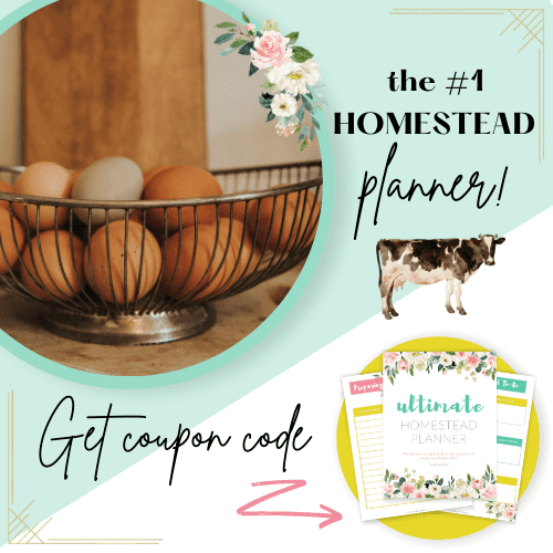 Ultimate Homestead Planner for planning our your homestead. Homestead Planner PDF printable