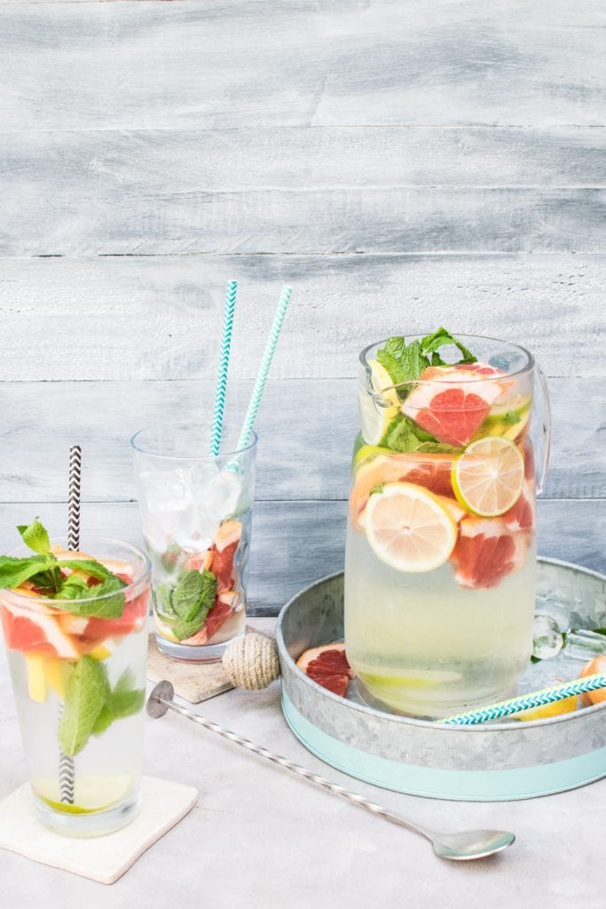 Frugal drinks at a BBQ