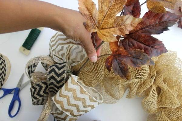 D.I.Y Eclectic Fall Wreath