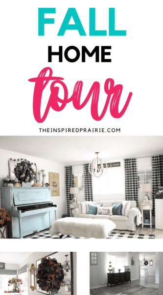 FALL HOME TOUR from The Inspired Prairie