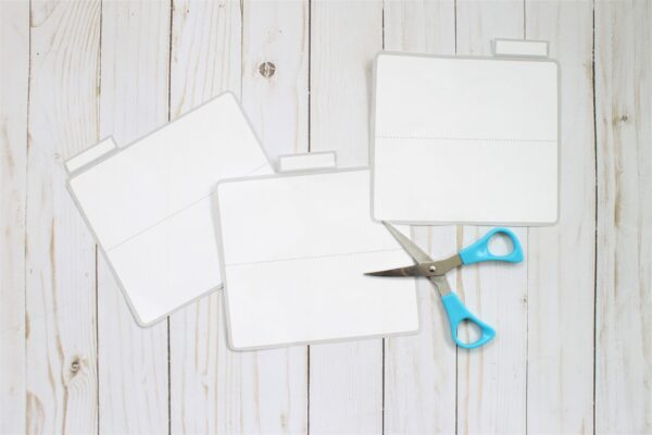 cut wallet divider templates for your cash